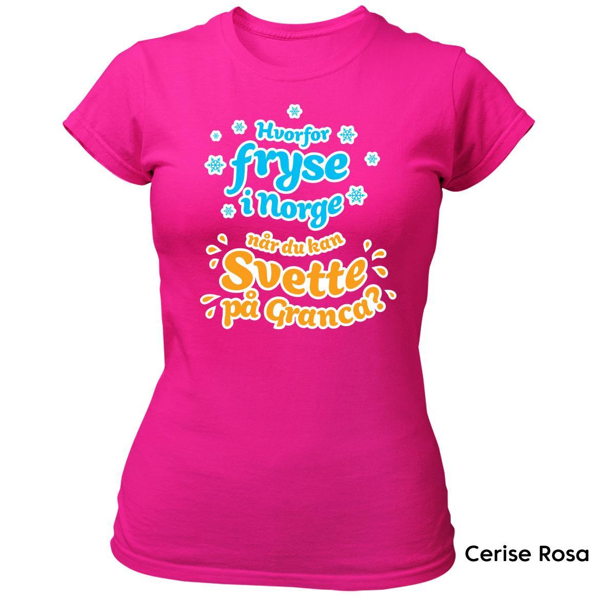 Hvorfor fryse Granca T skjorte Ekte Bajas morsomme t