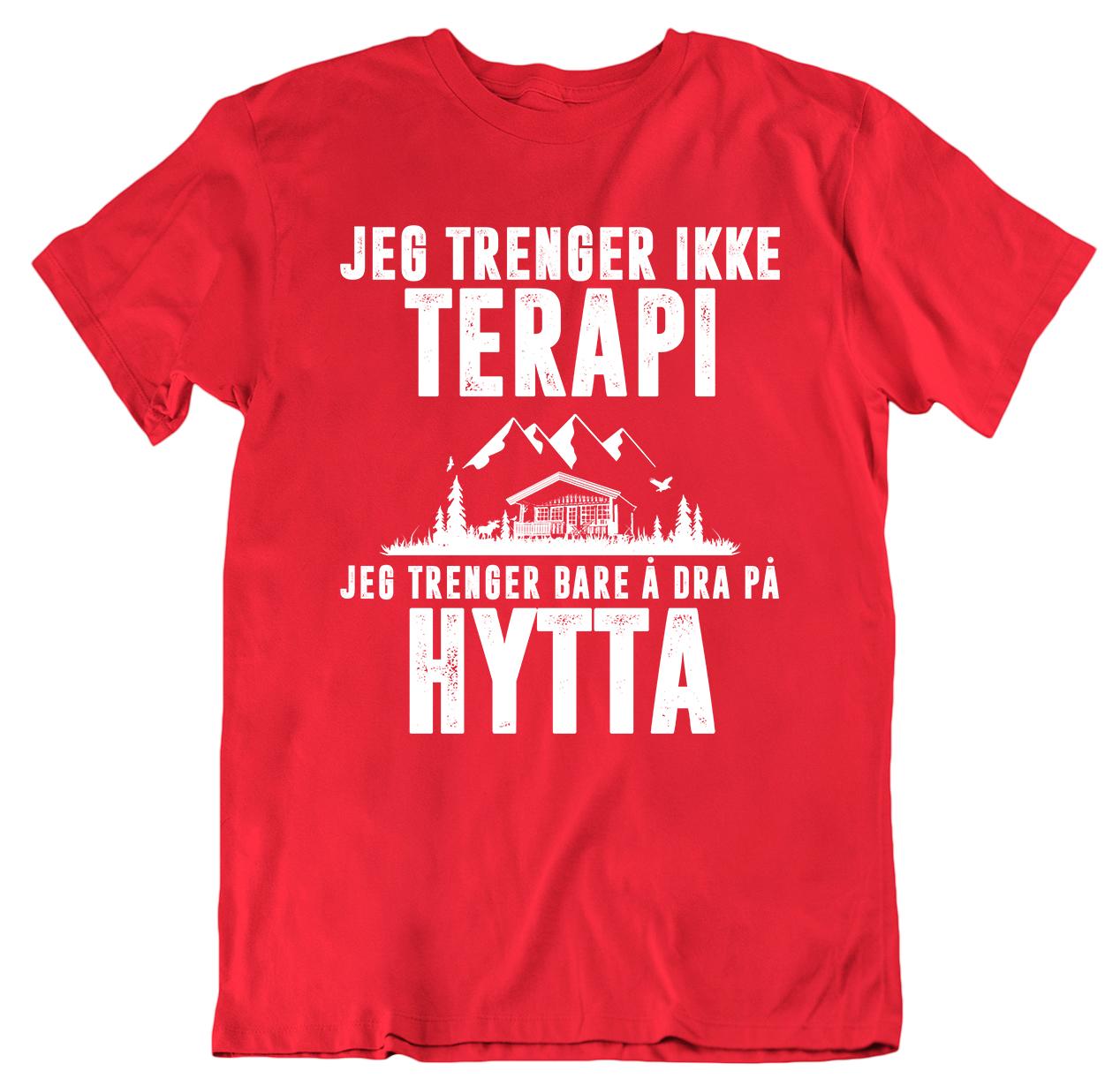 Terapi Hytta t skjorte Ekte Bajas morsomme t skjorter