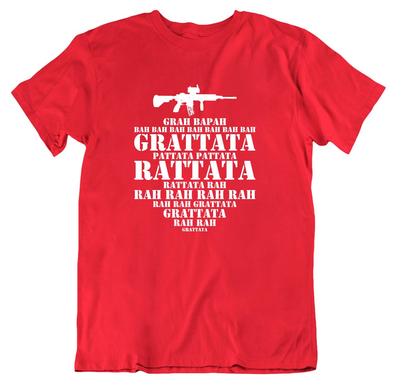 Grattata Rattata Førstegangstjenesten T skjorte dame Ekte