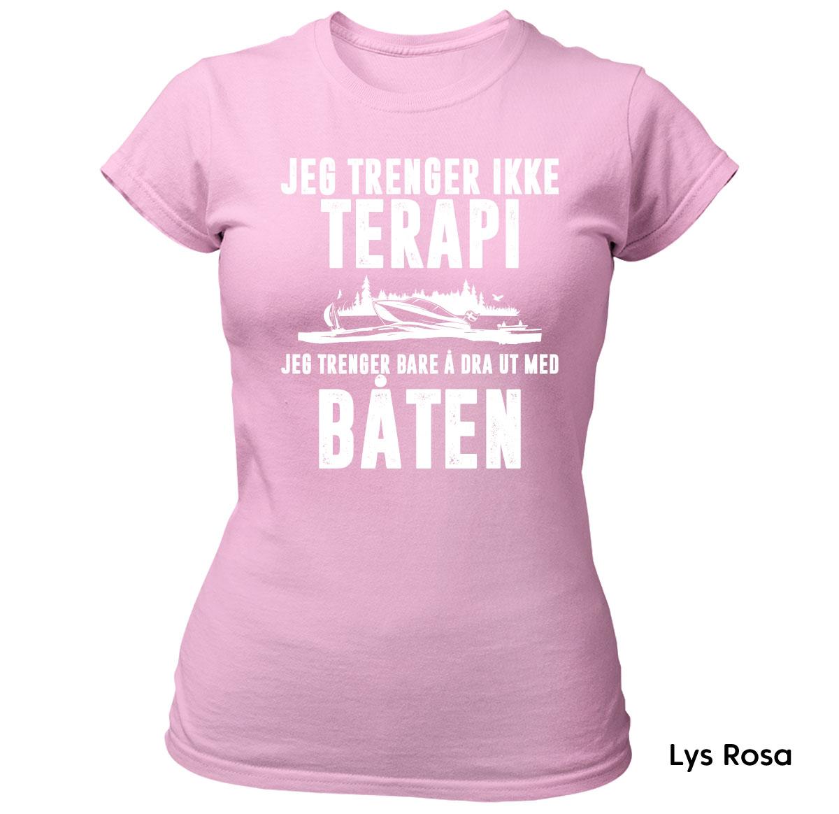 Terapi Båten T skjorte Ekte Bajas morsomme t skjorter